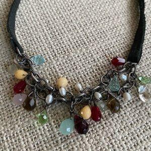 Silpada mixed gemstone necklace